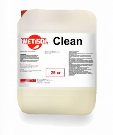 Средство для очистки оборудования Wetisol Clean, 25 кг