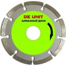 Диск алмазный по бетону De Unit 600/25,4