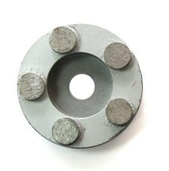 Круглая фреза с 5 или 6 алмазными сегментами для СО