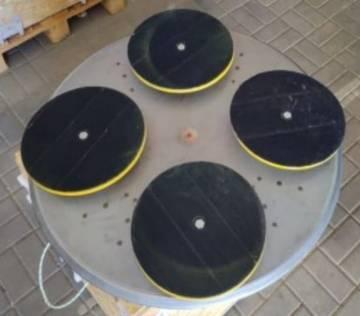 Полировальный диск инструмента 1200мм