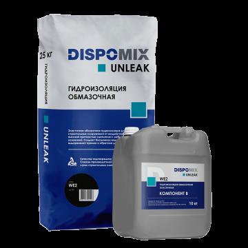 Гидроизоляция обмазочная эластичная Unleak WE2, 35 кг