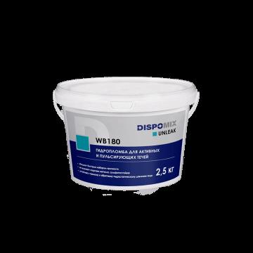 Гидропломба для активных и пульсирующий течей Unleak WB180, 2,5 кг