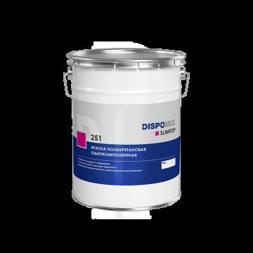 Краска полиуретановая однокомпонентная Slimtop 251, 30 кг