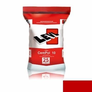 LEVL CemPol 10 однокомпонентный, Красный цвет