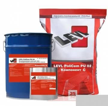 LEVL PoliCem PU 02, Светло-серый цвет