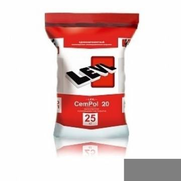 LEVL CemPol 20 однокомпонентный, Натуральный серый цвет