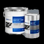 Антикоррозионная мастика Вектор 1236 серебристый, 3 кг